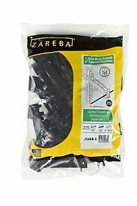 Zareba Black 25 Pcs Screw on Insulator T post Wrap Around 5 Extender From Post