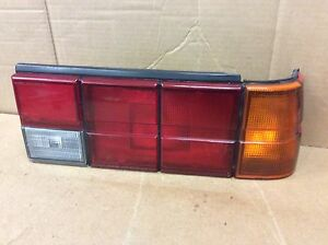 1985 1987 Subaru Dl Gl Sedan Right Side Taillight Assembly Oem
