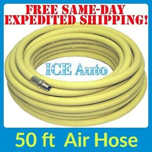 Continental Air Hose Yellow Oil Resistant 50ft 3 8 Goodyear