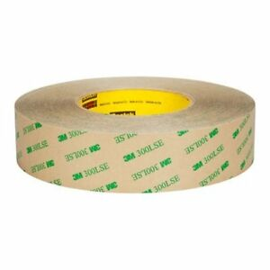 Free Ship 1 Rl 3m 9672le 12 x60yd Adhesive Transfer Tape Clear Cut Roll 56047