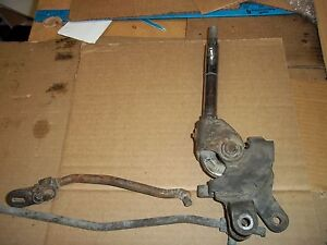Early Corvette Factory 4 Speed Shifter And Two Linkages Rods