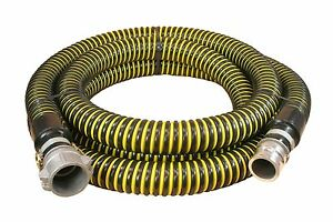 2 Id Crush proof Water Suction Hose 25 Ft Assembly