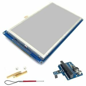 7 Tft 800 480 Sd Touch Module With Shield For Arduino Due