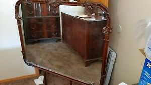 1930 S American Chippendale Style Dresser With Mirror And A Highboy