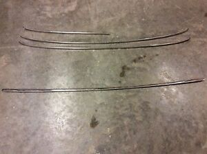 65 66 Ford Mustang 1965 1966 Coupe 2 2 Rear Back Glass Mldg Trim Parts Jph