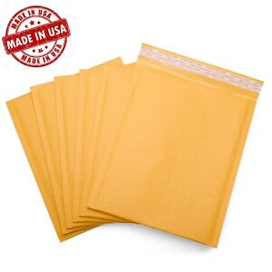 Wholesale Kraft Bubble Mailers Shipping Padded Envelopes Self seal Bubbles Usa
