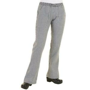 Chef Works Wbaw xl Women s Checked Chef Pants xl