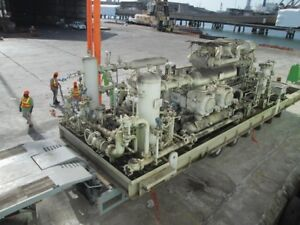 Wh 64 Cooper Superior Natural Gas Compressor Ip hp 2 Stage Reciprocating