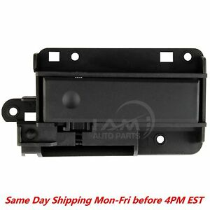 Upper Glove Box Compartment Dash Latch Handle Black For Chevy Silverado Sierra