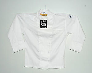 Chef Revival Classic Jacket Size Small J023 Poly cotton Classic New In Package