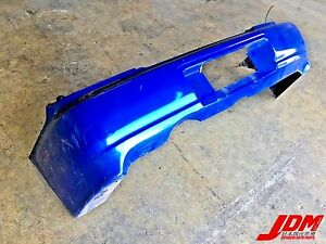Jdm 2002 2003 Subaru Impreza Wrx Sti Version 7 Rear Bumper Bugeye Sedan Gdb