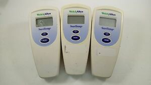 Welch Allyn Suretemp 678 Without Probe 1 Lot Of 3 Units