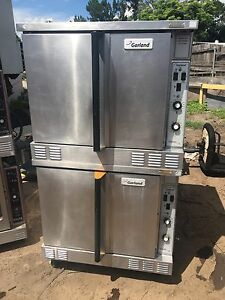 Double Stack Convection Oven Gas Garland Master Series 200 Model mco gs 10