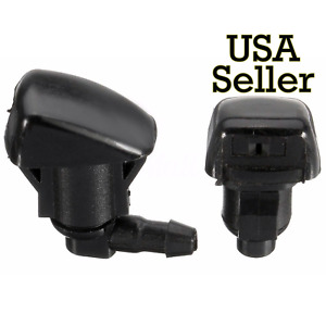 2pcs Windshield Wiper Spray Jet Washer Nozzle For 2005 2012 Chevrolet Malibu