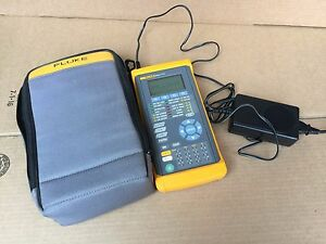 Good Fluke Networks E3port Plus Handheld E3 atm Analyzer With Adapter And Case