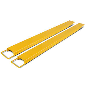 82x5 9 Forklift Pallet Fork Extensions Pair 2 Fork Thickness Width Lifting