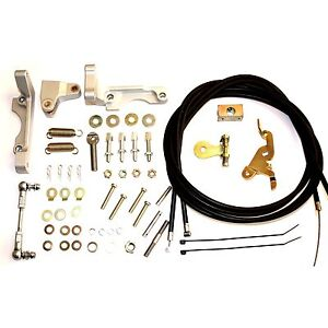 Weber 38 55 Dcoe dco sp Twin Cable Carburettor carb Throttle Linkage Kit