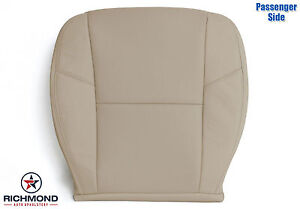 2010 Yukon Denali passenger Bottom Perforated Replacement Leather Seat Cover Tan