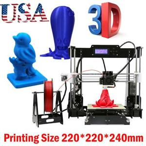 Anet A8 3d Printer High Precision Reprap I3 Diy Kit mk8 Extruder Nozzle acrylic
