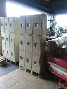Locker Storage whole Unit 12x36x78 Individual Lockers 12x12x22