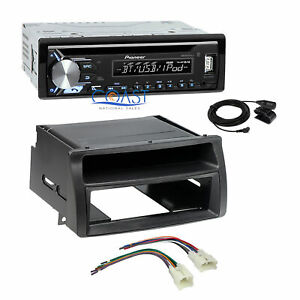 Pioneer Cd Usb Bluetooth Stereo Din Dash Kit Harness For 2003 08 Toyota Corolla