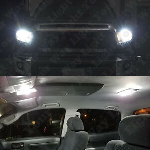 24x 6000k White Led Interior Exterior Light Bulb Kit For 2014 2017 Toyota Tundra