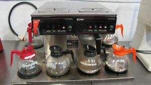 Bunn Cwtf Twin 0 6 Commercial Cafe Coffee Brewer Maker Machine