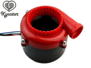 Electric Dump Fake Turbo Sound Simulator With Switch Blow Off Valve Bov Red New