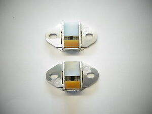 Datsun 240z 260z 280z 1970 78 Hatch Deck Lid Latch Stopper Pair New Oem 650
