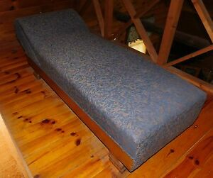 Victorian Fainting Couch Feather Leaf Print