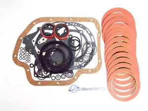 Gm Turbo Th400 Transmission Banner Rebuild Kit W Stage 1 Raybestos Red Plates