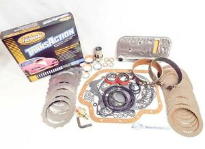 Loaded Gm Turbo Th400 Transmission Master Rebuild Kit W Fairbanks Shift Kit