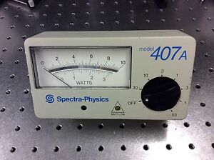 Spectra physics Power Meter Model 407a Good Condition