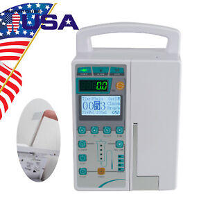 Usa Medical Infusion Pump Iv Fluid Equipment With Audible And Visual Alarm