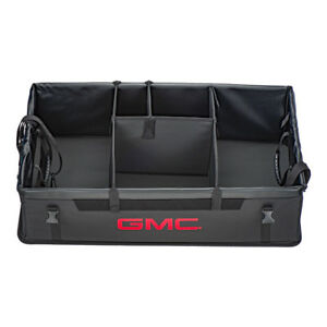 Oem New Collapsible Cargo Storage Organizer Black W red Logo 10 19 Gmc 19202576