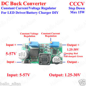 Dc Buck Constant Current Voltage Step down Regulator Led Driver Battery Charger