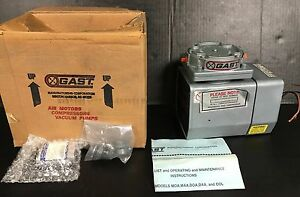 New In Factory Box Gast Vacuum Pump Model Doa p101 fb 115 110v 3 3 4 8 Amps