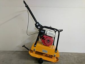 Hoc C120 Plate Tamper Compactor 18 In Wheel Kit 40 Cm Depth 2 Yr Warranty
