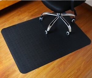 Office Chair Mat Wood Floor Protector Computer office Mat 47 x35 1 3mm Polytene