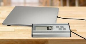 Digital Heavy Duty Postal Scale Shipping Stainless Steel Luggage Scale 440 Lbs