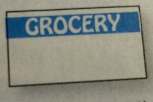Blue Grocery Labels For Monarch 1110 1 Case 255 000 Made In Usa With Inkers