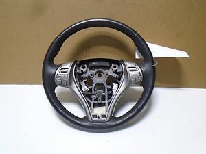 2013 14 Nissan Altima Oem Steering Wheel Withh Audio Control