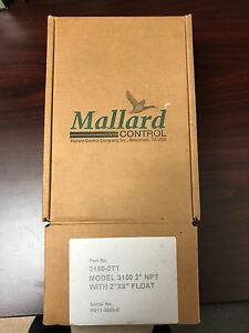 Mallard Control 3150 2t1 Pneumatic Float Switch Level Control Microvalve Nib