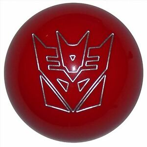 Red Transformer Decepticon Shift Knob M16x1 50 Fits Camaro Trans Am Firebird