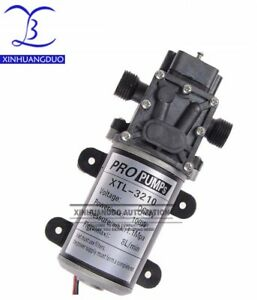 Dc 100w 12v 24v Volt Electric Water Pump 8l min Diaphragm Pump Hd3210