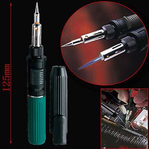 20ml Auto ignition Gas Soldering Iron Welding Flamethrower Torch Lighter Tips