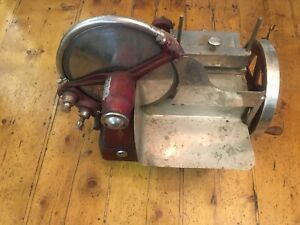 Vintage The Computing Scale Co Meat Slicer Dayton Ohio Antique Rare