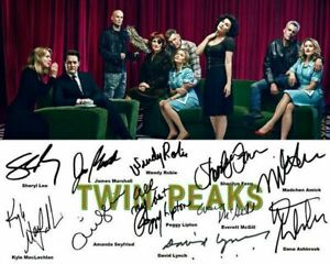 Twin Peaks 2017 Kyle MacLachlan Sheryl Lee Cast Signed Photo Autograph Reprint $9.88