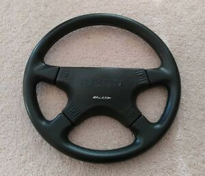 Italvolanti Galaxy Leather 370mm Steering Wheel Vintage Nardi Italy Momo