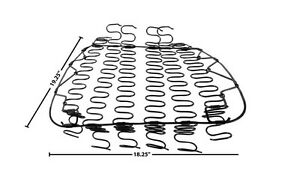 1970 74 Dodge Challenger Front Seat Bottom Spring New Dii